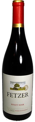 Pinot Noir Wine Bottle