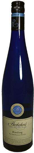 Riesling Wine Bottle